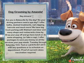 Dog grooming by Amanda.JPG