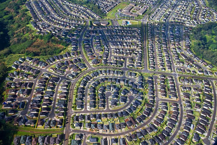Inhabitat: Urban Sprawl