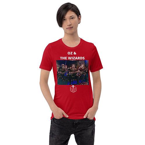 Oz&The Wizards - CBRC T-skjorte Model2