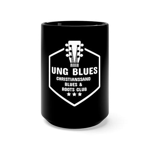 Black Ung Blues Mug 15oz