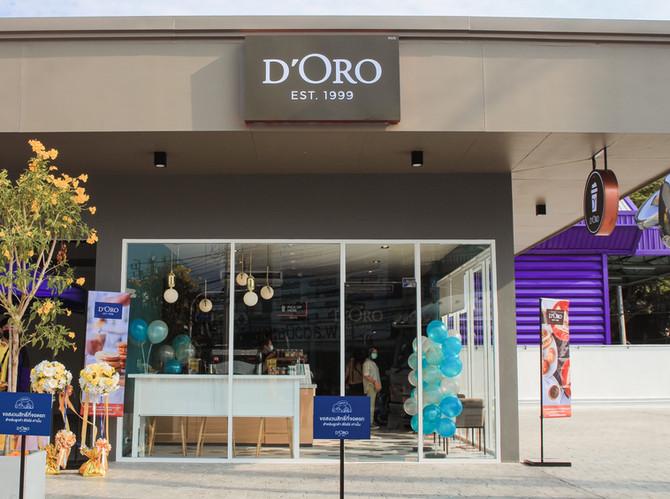 เปิดสาขาใหม่ D'ORO สาขา Susco ลาดปลาเค้า