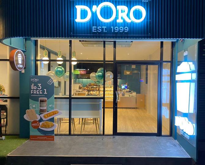เปิดสาขาใหม่ D'ORO สาขา พัฒนาการ 53