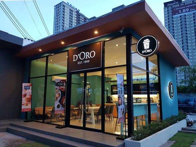 เปิดสาขาใหม่ D'ORO สาขา ASPIRE Erawan