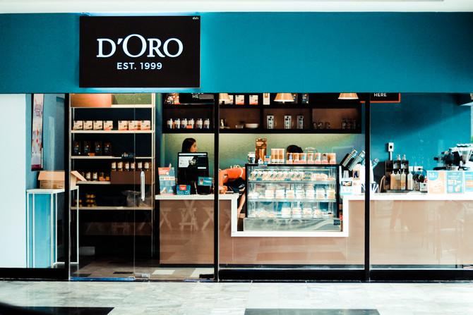 เปิดสาขาใหม่ D'ORO สาขา อาคารมณียา
