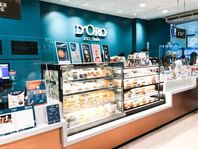 เปิดสาขาใหม่ D'ORO รพ.ราชวิถี อาคารสิรินธร