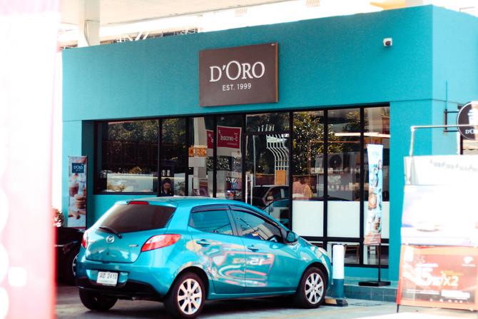 เปิดสาขาใหม่ D'ORO สาขา Shell ราชพฤกษ์