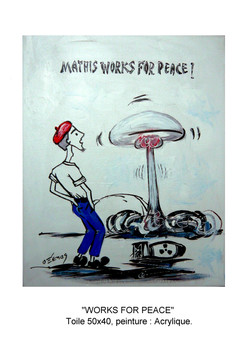 MATHIS WORKS FOR PEACE