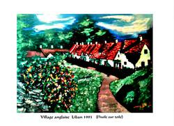 village anglaise