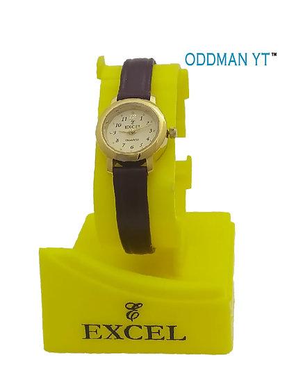 Excel Ladies Watch M8010(Brown)