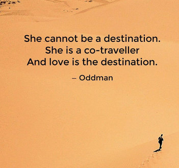 Oddman Quote on Lover