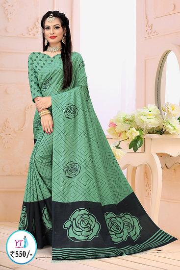 YT Fancy Vichithra - Persian Green