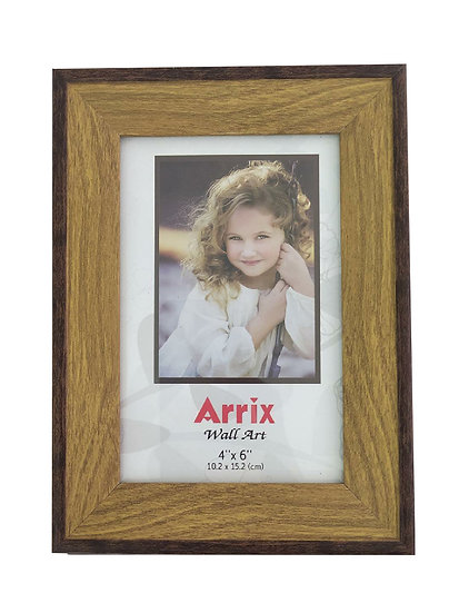 Square Frame With Chosen Image and Words 6 X 4