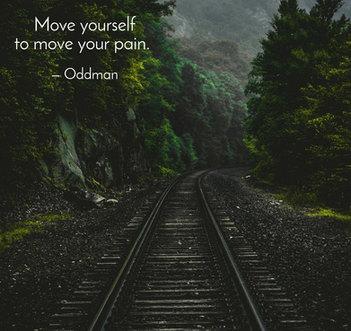 Oddman Quote on Pain