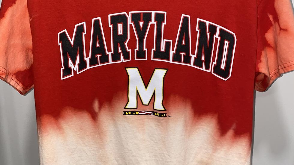 Bleach Dye Maryland T-Shirt