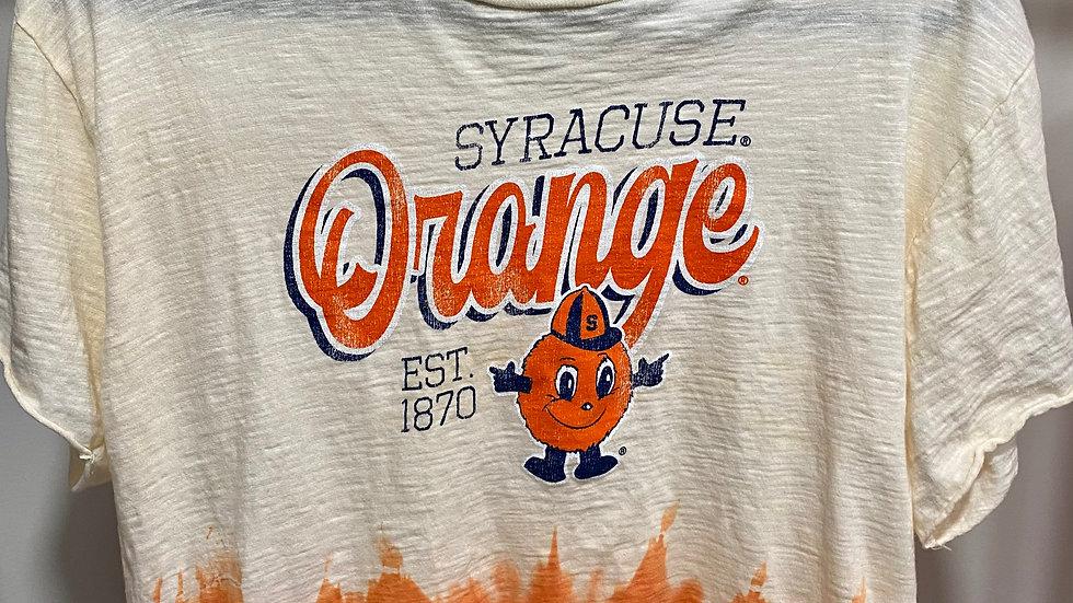 Tie Dye Crop Syracuse tee