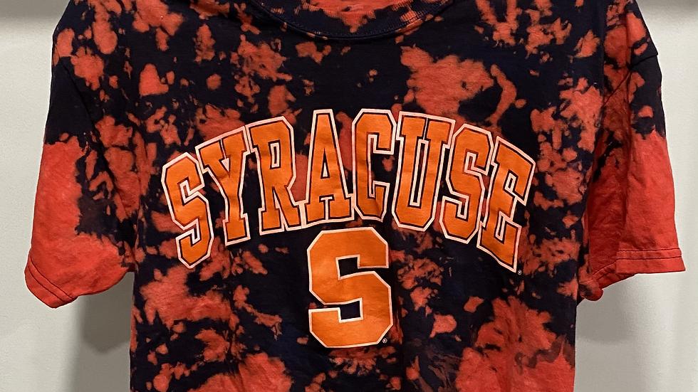 Tie Dye Syracuse Cropped T-Shirt