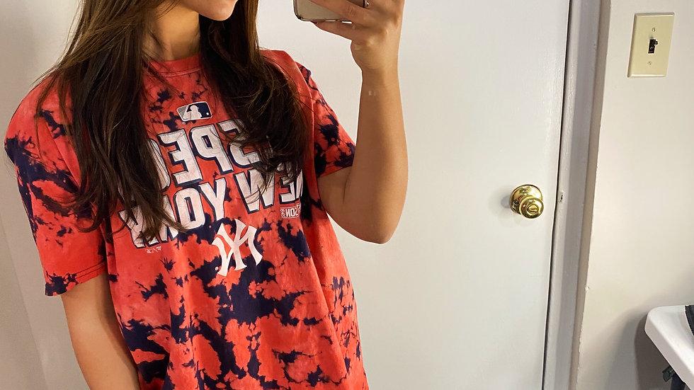 Tie Dye New York Yankees T-Shirt