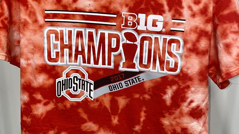 Bleach Dye Ohio State T-Shirt