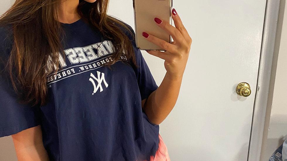 Bleached New York Yankees T-Shirt
