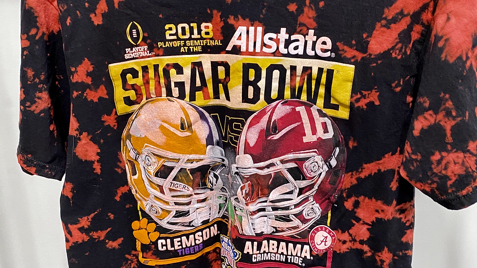Tie Dye Clemson vs. Alabama T-Shirt