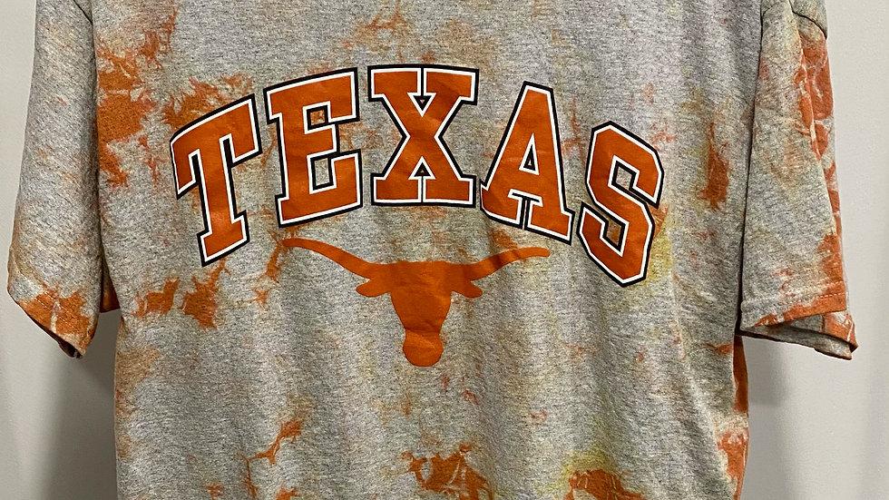Tie Dye Texas Longhorns T-Shirt