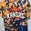 Thumbnail: Tie Dye Kansas Basketball T-Shirt