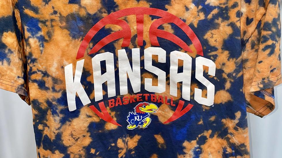 Tie Dye Kansas Basketball T-Shirt
