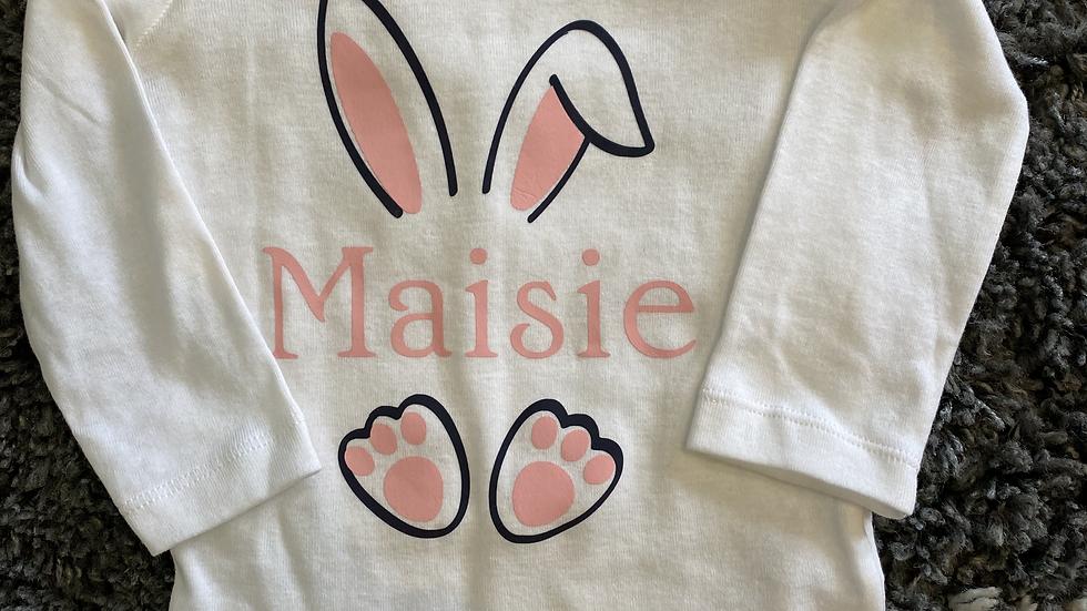 Easter Name Onesie