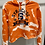 Thumbnail: Bleach Dye Cropped Syracuse Hoodie