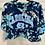 Thumbnail: Tie Dye Cropped UNC T-Shirt