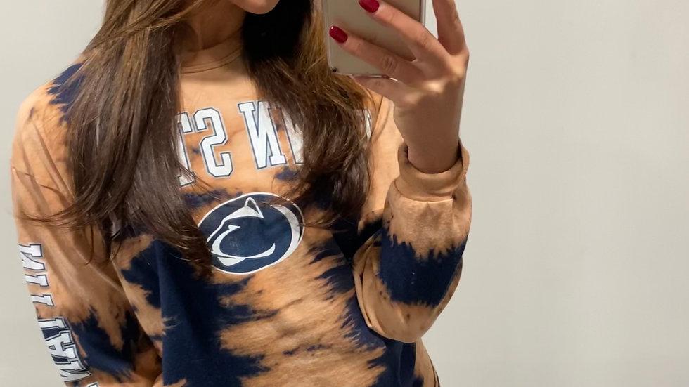 Bleached Penn State Long Sleeve