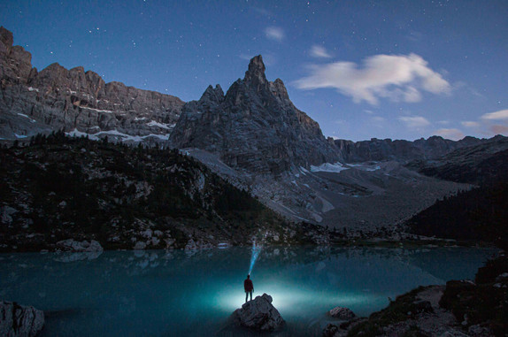 Sorapiss lake, Italy