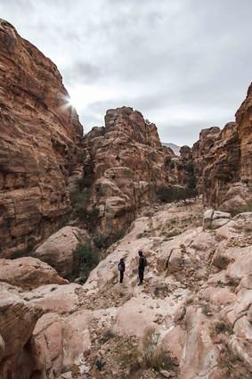 Petra Canyonlands, Jordan