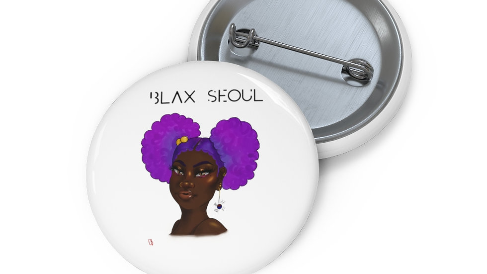 Blax Seoul Custom Pin Buttons