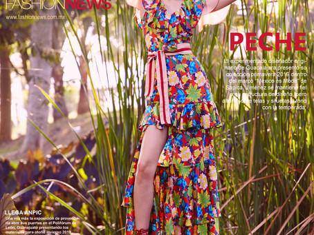 FN Fashion News publica en su portada foto de Pêche designs