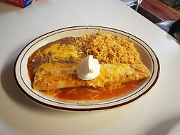 One Enchilada lunch