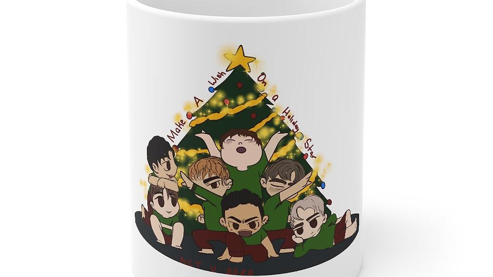 Blax Seoul NCT U Chibi Christmas Mug 11oz