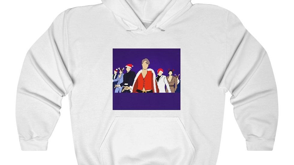 Blax Seoul Exo Santa Baby Hooded Sweatshirt