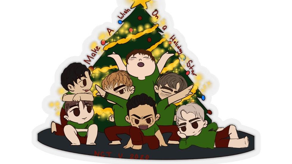 Blax Seoul NCT U Chibi Christmas Sticker