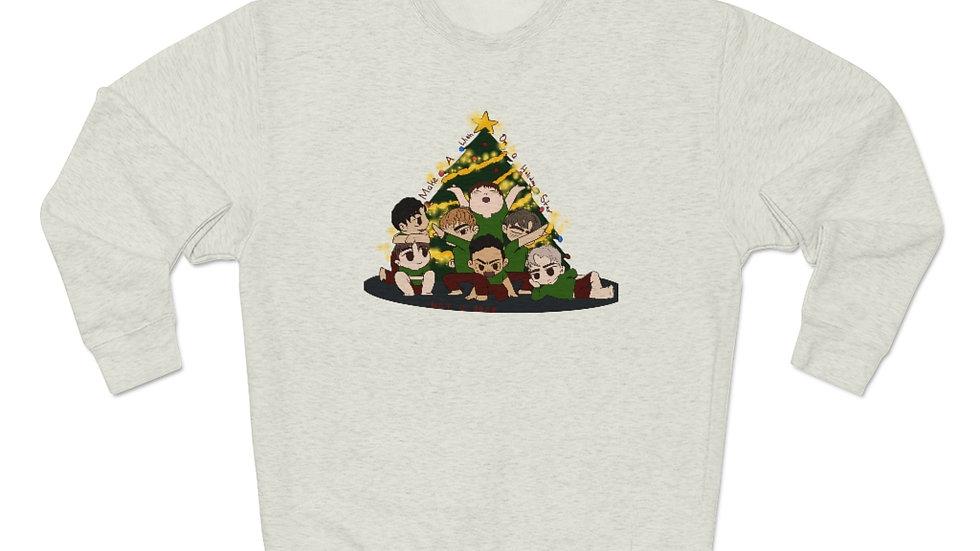 Blax Seoul Christmas NCT U Chibi Unisex Premium Crewneck Sweatshirt