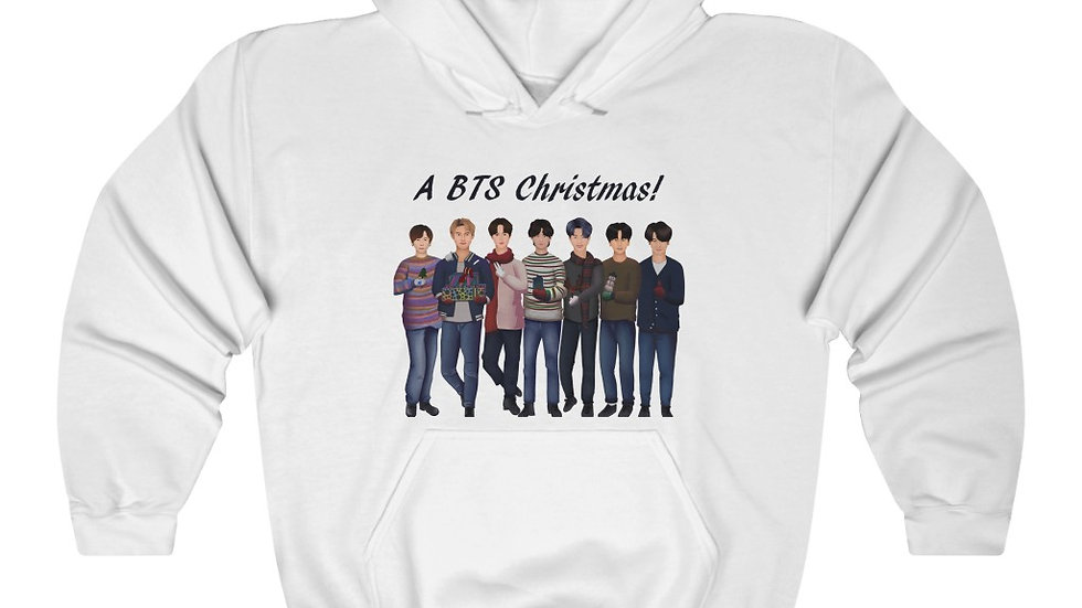 Blax Seoul BTS Holiday Hooded Sweatshirt