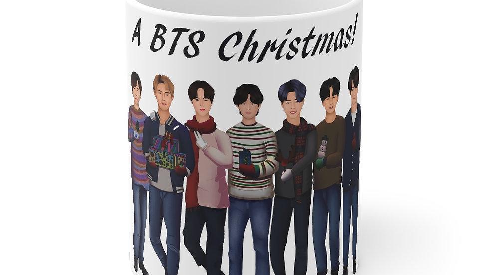 Blax Seoul Christmas BTS Mug 11oz
