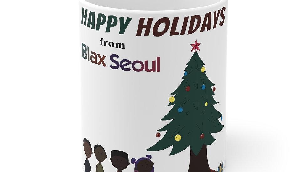 Blax Seoul Christmas Charlie Brown Mug 11oz