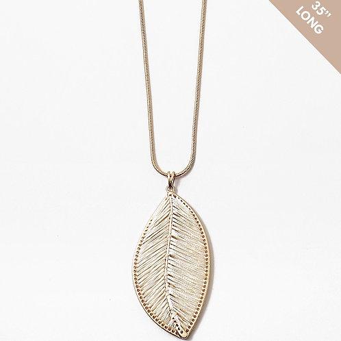 Her Ivory Leaf Necklace