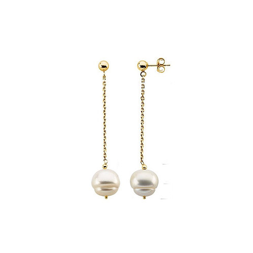 Her Pearls Dangle Earrings
