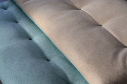 pure wool mattress, Ró two colored