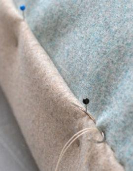 RÓ kvadrat upholstery wool mattress