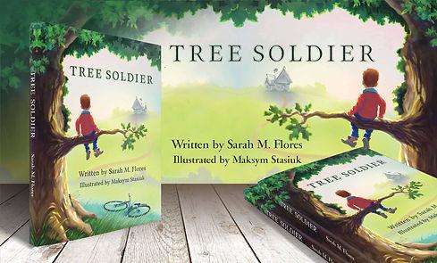 Tree_Soldier_Book_Author Sarah M. Flores