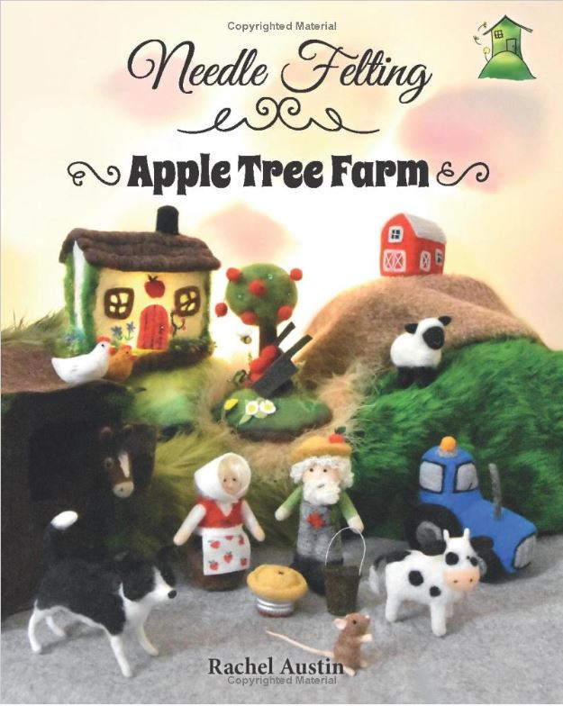 Needle Felting Apple Tree Farm Rachel Austin