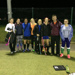 Some of the 2nd team with Coach Gav
